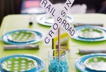 Train Birthday Party / This board features train theme birthday party ideas, decor, recipes and supplies.