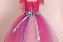 Handmade Princess Tutu Dresses / Handmade Princess and Superhero Tutu Dresses for a very special Birthday Party or fancy dress party .