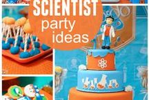 Science Birthday Party / This board features science and lab theme birthday party ideas, decor, recipes and supplies.