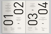 Print// / Typography/Deconstruction/Graphic design/Layout/Minimalism/Modern/Bauhaus/Posters