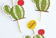 Fiesta Party / This board features fiesta theme birthday party ideas, decor, recipes and supplies.