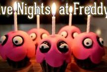Five Nights at Freddy's Birthday Party / This board features Five Nights at Freddy's theme birthday party ideas, decor, recipes and supplies.
