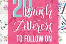 Hand Lettering Tips & Tutorials / This board features hand lettering ideas, tips, tutorials, inspiration and supplies.
