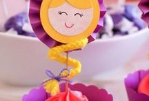 Rapunzel Birthday Party / This board features Rapunzel or Tangled theme birthday party ideas, decor, recipes and supplies.