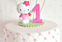 Hello Kitty Birthday Party / This board features Hello Kitty theme birthday party ideas, decor, recipes and supplies.