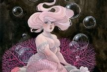 Mermaids / Our portraits from all around the world :)