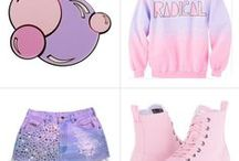 Pastel Goth Style / This board features pastel goth ideas, decor, fashion and products.