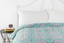 Bedding  / Room theme: Active. Saturated. Patterns. Moroccan.  I think the new bedding needs to be warm because there is nothing else cool-toned in the room. Or maybe it could contrast and work?