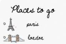 Places to go ✈