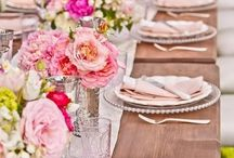 Wedding Reception / Romantic reception ideas to celebrate your wedding style from glamorous table settings to beautiful outdoor ideas.