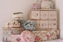 shabby chic decor/french country chic / by Kezzy & Kaylee