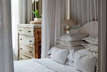 Living space: bedroom / What is your idea of a perfect bedroom?. For me its either floral or contemporary. Added with a walk-in-closet or a bath