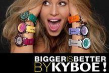 KYBOE Watches || Quickjewels.nl / Groot, Breed en Stoere horloges van KYBOE! Voor Dames en Heren verkrijgbaar in 48mm en 55mm. Alle horloges zijn water resistent en voorzien van Lichtgevende wijzers.