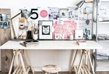 Creative Work Spaces / Cool, creative and inspiring work spaces and places that make you want to get up in the morning!
