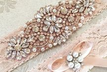 Bridal Garter / The perfect something special to add to your bridal look.