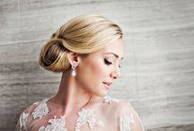 Wedding Hairstyles / Inspiration for brides looking for the most glamorous hair style trends.