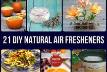 Clean: DIY Air Fresheners/Room Scents / by Kip Britt