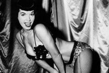 Girl Crush - Bettie Page