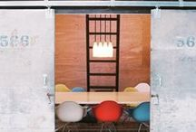 Meeting Spaces / Commercial Interior Design.  Creative, cool and fun meeting rooms - informal and formal spaces.