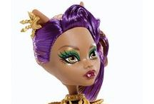 Monster high dolls that we want