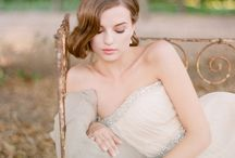 Dreamy Photo Shoot / Light bright dreamy stylized photo shoot with Ivory, pink ,or blue tulle gown.