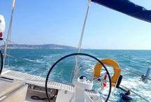 Voile et mer