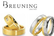 Breuning Trouwringen | Breuning Weddingrings / Ben jij op zoek naar trouwringen? Trouwringen die passen bij jullie smaak en budget vindt je online bij quickjewels!
