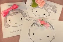 Birthdaycards / Cute birthdaycards for little girls
