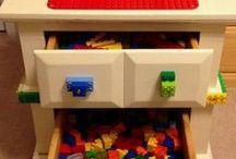 Lego Storage ideas & more