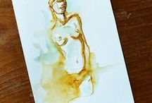 Skeenee´s Life Drawings / A collection of my life drawings.