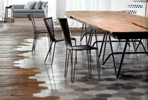 FEATURE FLOORS / Floors are not to be neglected, it can make a space feel warm and inviting or the complete opposite, cold and sterile. It can also make a room feel larger or smaller. Here we share our appreciation of flooring with a difference.