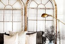 ARCHED WINDOWS / Open the curtains, draw those blinds! We adore big arched windows. Here we let the natural light shine through this gorgeous collection of arch windows.