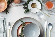 TABLESCAPES / Got a party or event coming up? Entertaining is one of our favorite things to do! The best part is creatively thinking of a theme or style for the occasion. Here you will find inspirational table top styling.