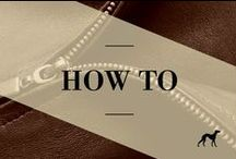 How To / All the fashion tips you need from how to tie a knot to how to match colours