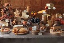Party - Rustic Deli Vibe / Ideas for a friends rustic Cheese and Wine type party - with some photography ideas as she is a photographer, too.