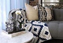 HUMBLE WEAVE THROWS / **As seen on Bravo's Million Dollar Listing LA**  Humble Weave is a collection of 100% cotton knitted blankets for HOME + BABY, featuring stylish and playful patterns and color.
