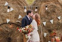Country Wedding Party / Кантри свадьба / Рустик / #country #wedding #autumn #rustic