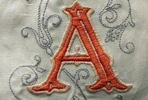 Embroidery / Monogram embroidery, whiteworks, needlework