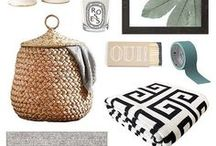 HOME ACCESSORIES / Nothing adds personality to an interior like accessories. Dress your space by layering and sorting accessories by themes, textures, colors, sizes, interests and function. Here you will find accessories we adore!