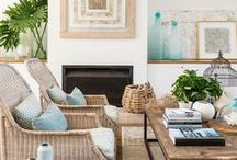 SEASON | summer living / What do you visualize when you think of summer? Here you will find inspiring interiors, home decor, places, objects, food that cultivate the feel of summer