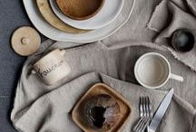 PLATES + FLATWARE / This is a collection of plates, dishes, bowls and flatware that inspire us with their detail in color and pattern.