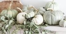 SEASON | fall living / What do you visualize when you think of fall? Here you will find inspiring interiors, home decor, places, objects, food that cultivate the feel of fall.