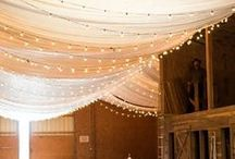 Venue Decor Ideas / Wedding venue decorations, ideas and inspiration. Everything from stunning wedding arches to table settings and chair cover ideas.