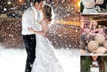 Winter Weddings / Baby it's cold outside.. beautiful winter / Christmas wedding inspiration