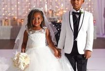 Flower Girl + Ring Bearer Ideas / The cutest flower girls and page boys making their family's proud at weddings.