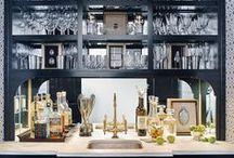 BAR / Drink anyone? Here you will find inspiration for bars at home.