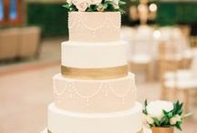 Wedding Cakes / Unique + beautiful wedding cakes that are sure to bring joy to any bride.