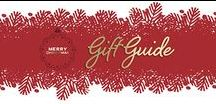 Gift Guide / Find the perfect gifts for the Holidays!