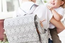 Petunia Pickle Bottom Diaper Bags / Petunia Pickle Bottom diaper bags are the perfect mix of practicality and style. The bags look like fashionable purses, totes and backpacks - sometimes it is hard to believe that one of the Petunia Pickle Bottom's bags is actually a baby bag full of diapers and baby necessities...