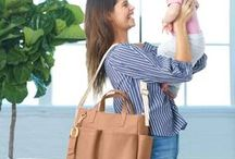 "Skip Hop Diaper Bags / Skip Hop diaper bags are a lovely combination of functionality and style. Many of their baby bags don't reseble classic ""diaper bags"". Maybe you will fall in love with one of the Skip Hop's fashionable diaper bags today?"